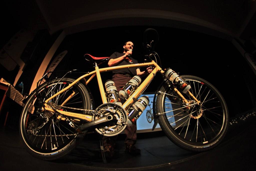Turistické kolo UB.bike na Festivalu Cyklocestování