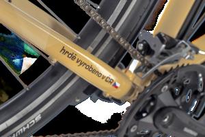 Cykloturistické kolo vyrobené v České Republice