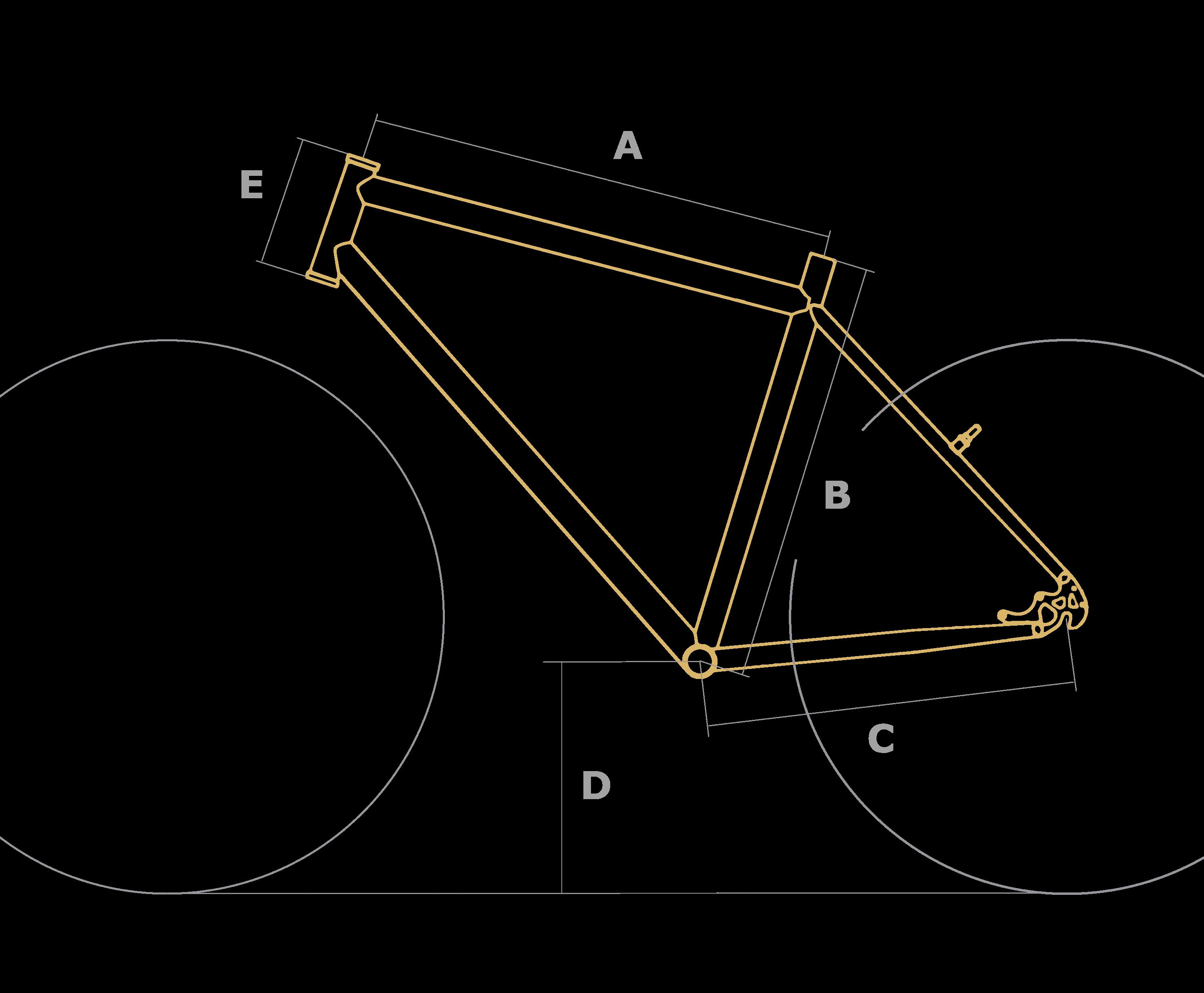 velikost rámů kol UB.bike