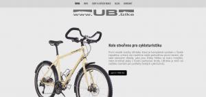 nový web UB.bike