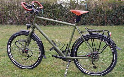 Unikátní zelený UB.bike